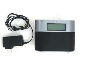 IHome IP23 Dual Alarm Clock Charging Dock for Apple Iphone Ipod with AC Adapter