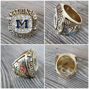 1997 University of Michigan WOLVERINES Championship Rose Bowl Ring NCAA Football