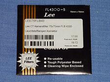 Lee Filter (Wratten) 75x75mm  FL4300-B