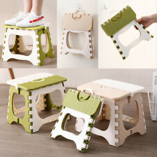 Green Heavy Duty Plastic Step Stool Foldable Multi Purpose Home Kitchen Outdoor