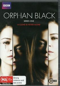 ORPHAN BLACK. S1, 2, 3, 4, 5. Complete Series.  Tatiana Maslany 15 x R4 DVDs