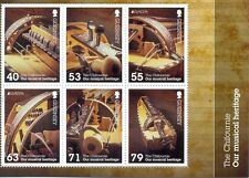 Guernsey-Musicalo Instruments-new issue May 2014 Min sheet mnh