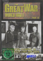 DVD + Die Geschichte des 1.Weltkrieges + World War 1 + Schwere Kämpfe in F und B