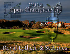 British Open Poster 2012 'The Open Championship'Royal Lytham and St Annes Golf