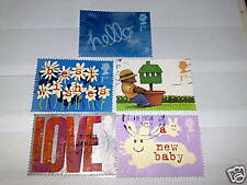 QE11 2002 FINE USED GREETINGS OCCASIONS 1/4 CV SET