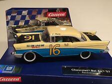 Carrera 30723 Digital & Analog Chevy Bel Air #16 Raceversion 1/32 Scale Slot Car
