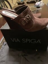 Via Spiga Wedge Sandals Size 8M