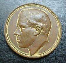 1924 Edward VIII (P.O.W) British Empire Exhibition Medallion Gilt Bronze