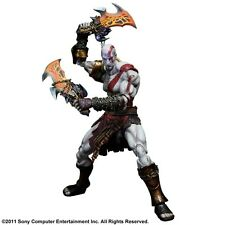 Flawed Box God of War Kratos Play Arts Kai Action Figure