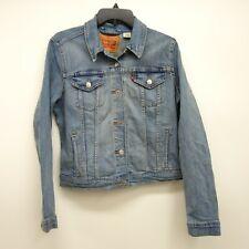 Levi's Size XL Womens 29945 Long Sleeve Medium Trucker Denim Jean Jacket New