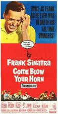 COME BLOW YOUR HORN original large 3-sheet movie poster FRANK SINATRA