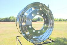 "22.5 x 9"" WIDEBASE ACCURIDE 41012sp (alcoa style) KW IHC FORD PETE SEMI-POLISHED"
