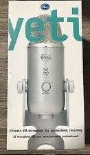 New Blue Yeti Ultimate USB Microphone -Silver- Free Shipping