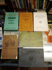 Steam engine catalog lot American Ball Domestic Westinghouse Atlas lubricator