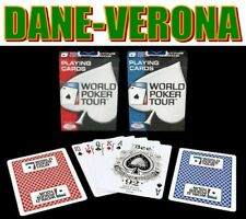 WPT Carte Originali World Poker Tour - Marca Bee U.S.A.