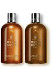 Molton Brown Black Pepper & Tobacco Absolute Shower Gel Gift Set 300ml Unboxed