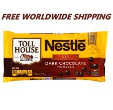 Nestle Toll House Dark Chocolate Morsels 10 Oz FREE WORLDWIDE SHIPPING