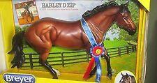 Breyer Harley D Zip Legendary Quarter Horse #1718 w Show Ribbon Midyear 2014 NIB