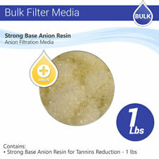 Strong Base Anion Resin for Tannins Reduction - 1 lbs Max Water Flow Ro Filter
