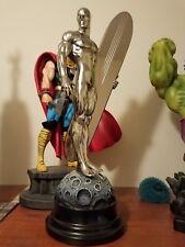Bowen Designs SILVER SURFER CHROME STATUE Marvel Comics Fantastic Four Galactus