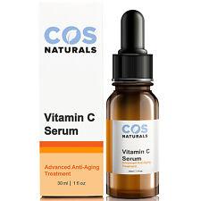 COS Naturals 20% Vitamin C Serum with L-Ascorbic Hyaluronic Ferulic Acid