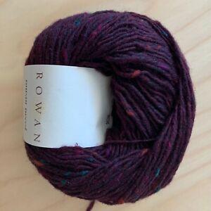 Rowan - Rowan Tweed 8ply DK - 100% Wool Burgundy - 50g Balls - $10.00
