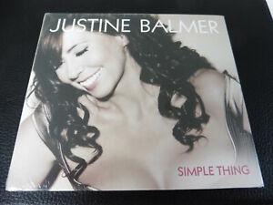 JUSTIN BALMER - SIMPLE THING - NEW / SEALED CD