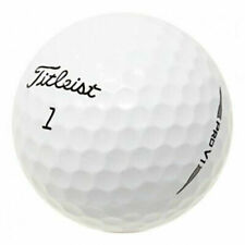 ⛳NEAR MINT⛳ TITLEIST PRO V1 RECYCLED GOLF BALLS WHITE AAAA 12PK