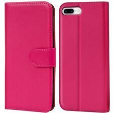 Book Case Apple iPhone 8 Plus 5,5 Hülle Klapphülle Handy Tasche Flip Cover Pink