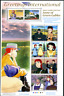 """Japan 2008 """"Anne of Green Gables"""", MiNr 4514/23 Joint Issue mit Canada"""