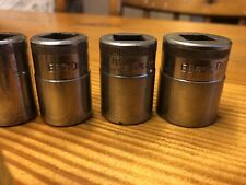 "Vintage Britool EB Series Sockets 1/2"" Drive Sockets X10"