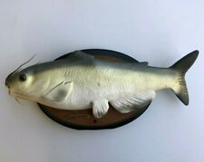 Nice Pre_owned Cool Catfish Big Mouth Talking Singing Mounted Motion Activated