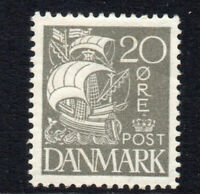 Denmark 20 Ore c1927 Mounted Mint Stamp (2441)