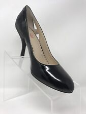 "VIOLET & RED ""Angel"" Black Patent Leather High Heel Pumps/Shoes Size 7M"