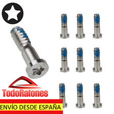 KIT PACK 2X TORNILLOS PARA APPLE IPHONE 5 5G PENTALOBE DE 5 PUNTAS PENTALOBULAR