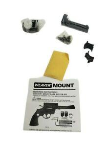 Weaver Base System 303 Scope Mount for Colt-Trooper .357 Officers Model 48603