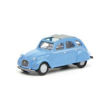 Schuco 452632500 citroen 2cv azul escala 1:87 coche modelo nuevo! °