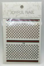 NAIL Decorative Self Adhesive Stickers, - UK SELLER FAST DELIVERY