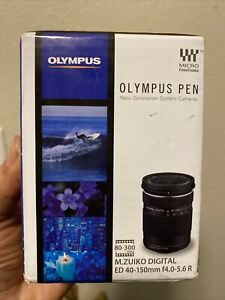 NEW! Olympus M.Zuiko Digital 40-150mm f/4.0-5.6 R ED Lens Zoom Telephoto Sport
