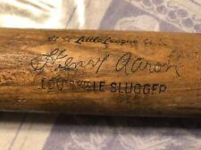 "31"" LOUISVILLE SLUGGER  HENRY (HANK) AARON BASEBALL BAT #125J, EX-, L@@K!!"