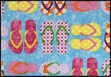 Salonloewe Fußmatte Sandalero 50 x 75 cm waschbar Schmutzmatte Schuhe Willkommen