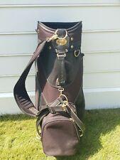 Bennington Black Cart Bag 6-way, 6 pockets with cover