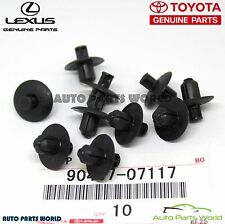 NEW GENUINE OEM TOYOTA LEXUS ENGINE SIDE COVER CLIPS SET 10 X 90467-07117