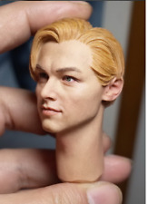 1/6 Male Head Carvings Beautiful Males TSCP Small Plums Leonardo DiCaprio Toys