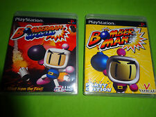 Empty Replacement Cases! Bomberman World Party Edition PS1 PS2 PS3