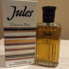 Jules by Christian Dior 3.4oz EDT Spray  Vintage RARE - NIB