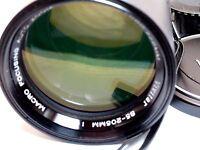 Vivitar 85-205mm f3.8 Non-Ai Manual Focus zoom Lens for F cameras