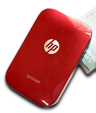 HP Sprocket Printer (Red)