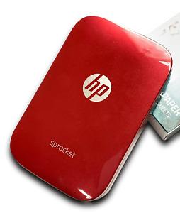 HP Sprocket Printer (Red)