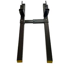 "ALEKO Skid Steer Tractor Pallet Fork Attachment Clamp 43"" 1500lb Stabilizer Bar"